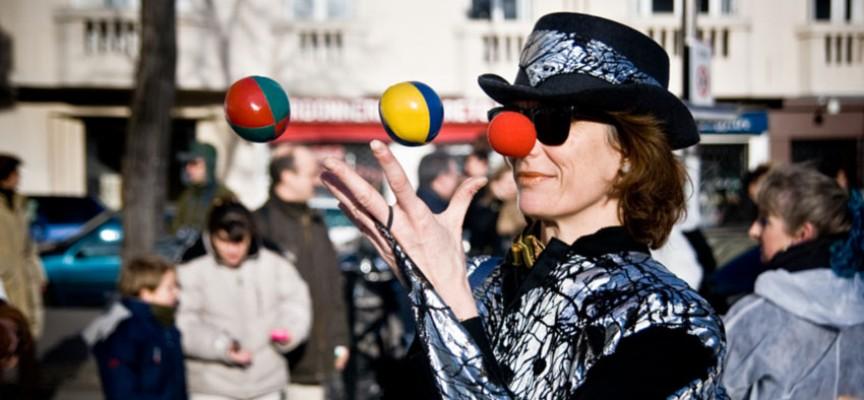 Žongliranjem do koncentracije