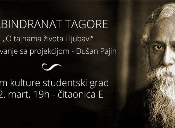 Rabindranat Tagore — O tajnama života i ljubavi (događaj)