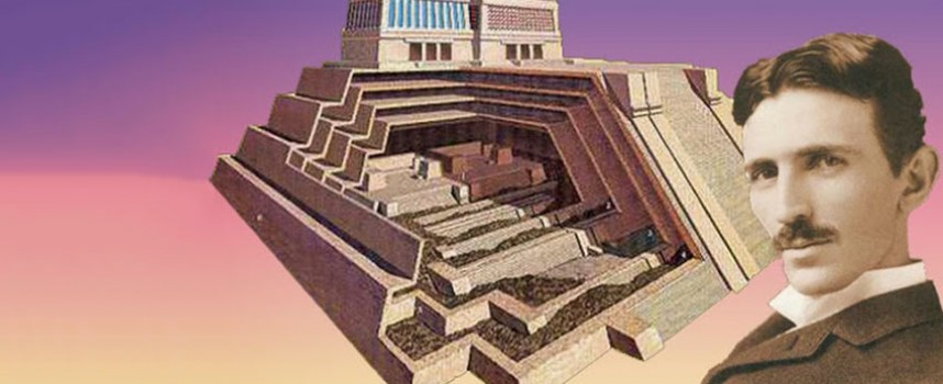 Piramida — Teslin energetski priključak