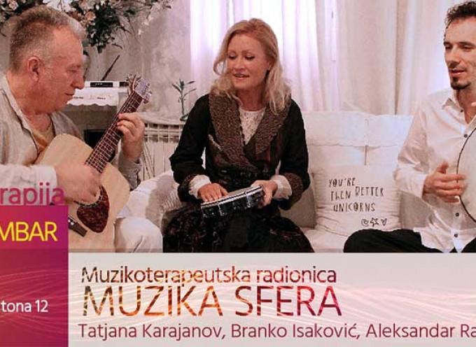 Muzikoterapeutska radionica — MUZIKA SFERA (događaj)