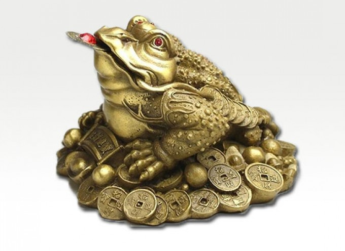 """Legenda o Đin Čen — feng šui """"zlatnoj žabi"""""""